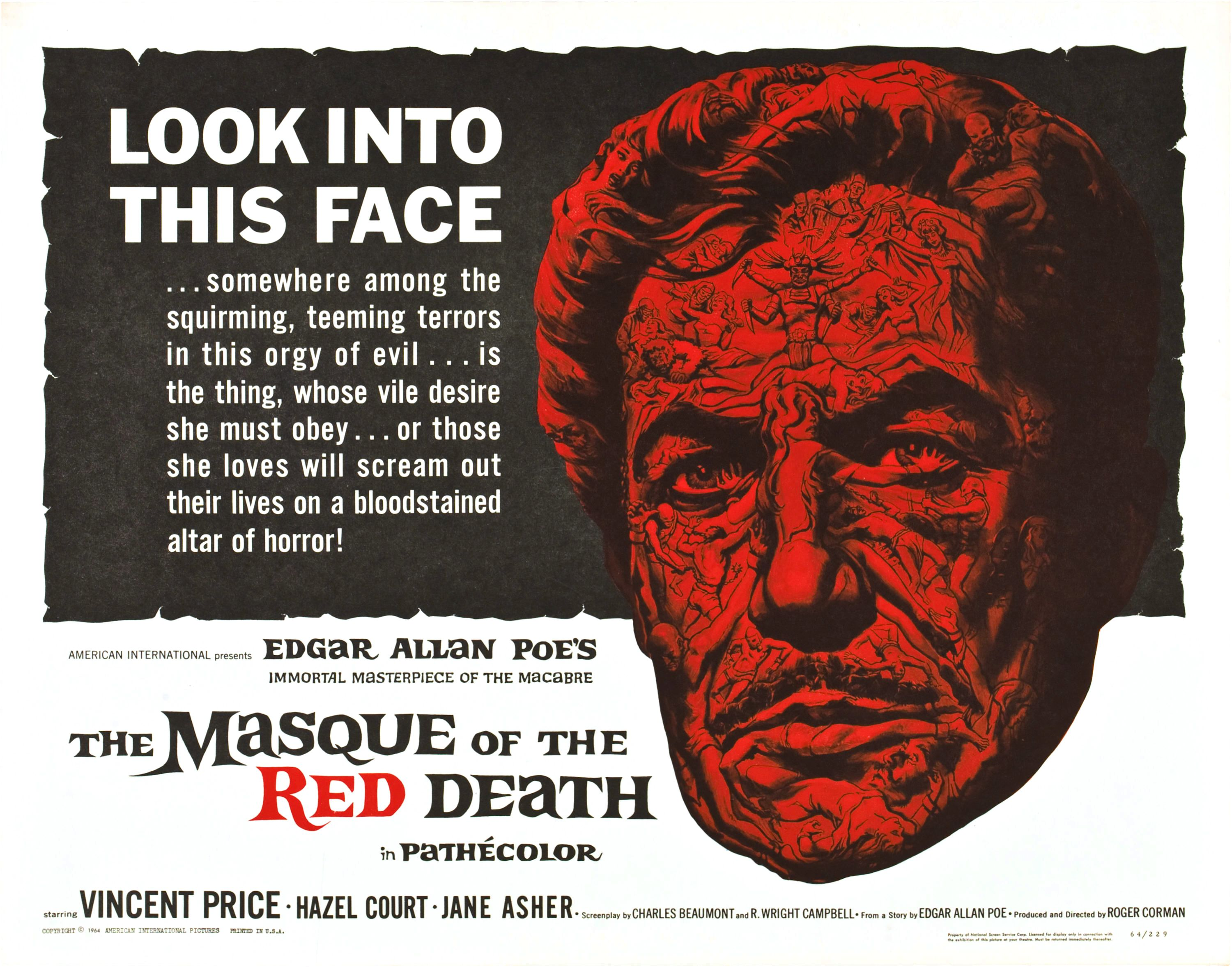 The concept of death in edgar allan poes the masque of the red death