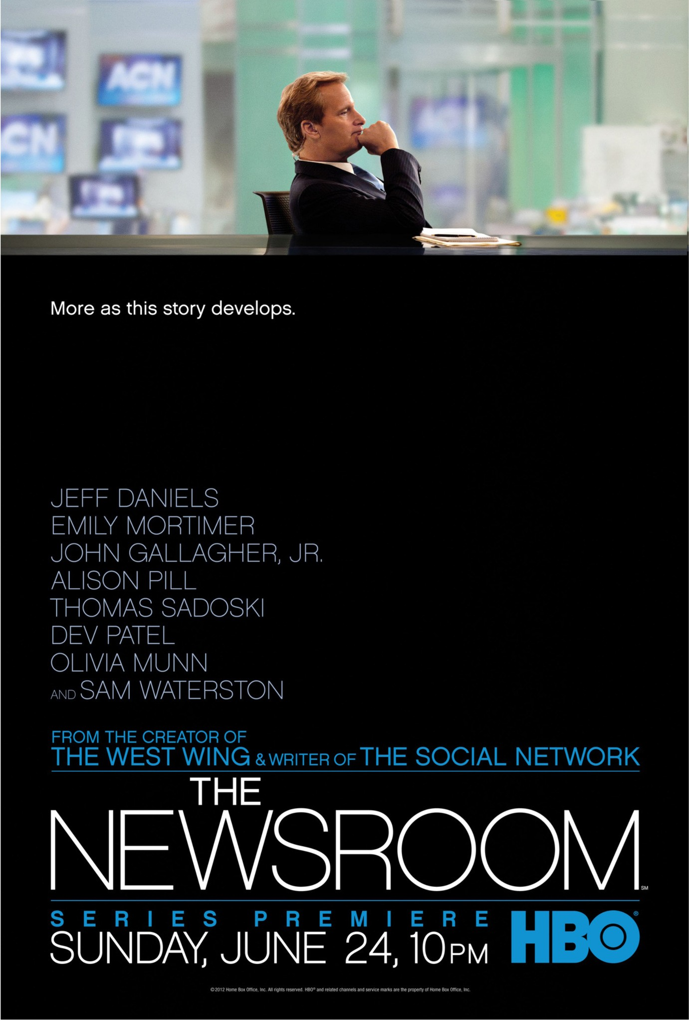 The Newsroom S01 E04 – I'll Try To Fix You | The Mind Reels