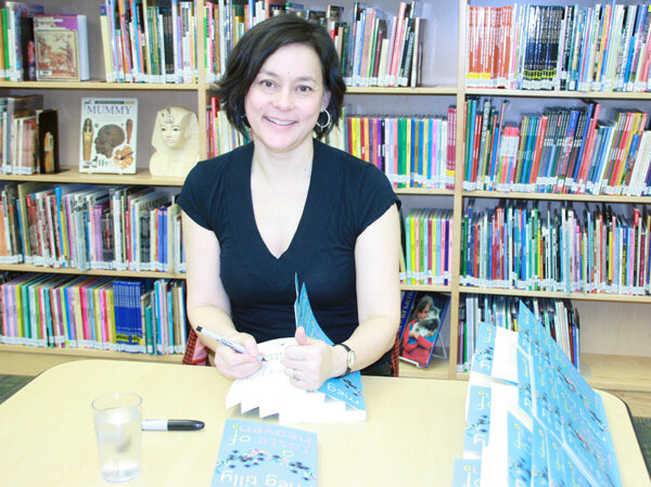 Signing at Branksome Hall, February 2013