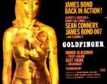 Goldfinger poster 007