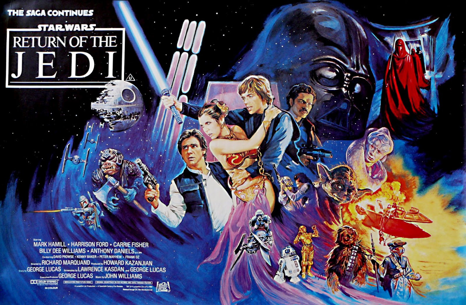 Star Wars: Episode VI – The Return of the Jedi (1983) – Richard Marquand –  The Mind Reels