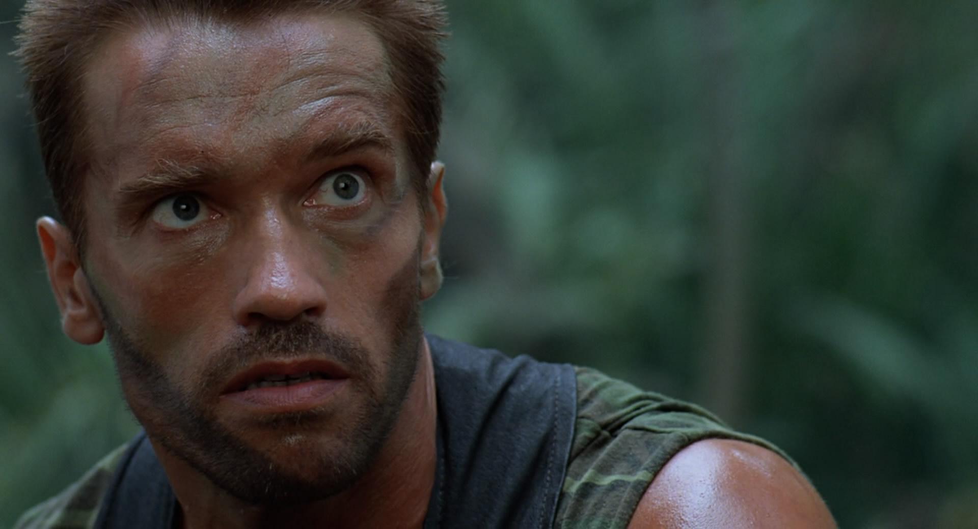 Arnold Predator Face Paint
