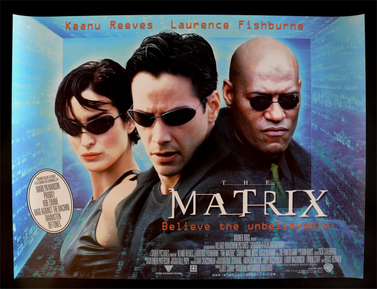 The Matrix 1999 The Wachowski Brothers The Mind Reels