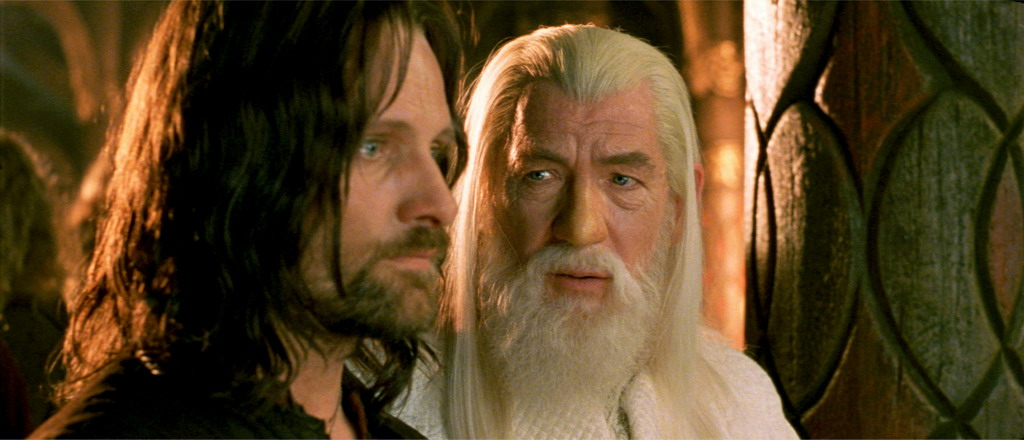 Return Of The King Aragorn The Lord of the Rings:...
