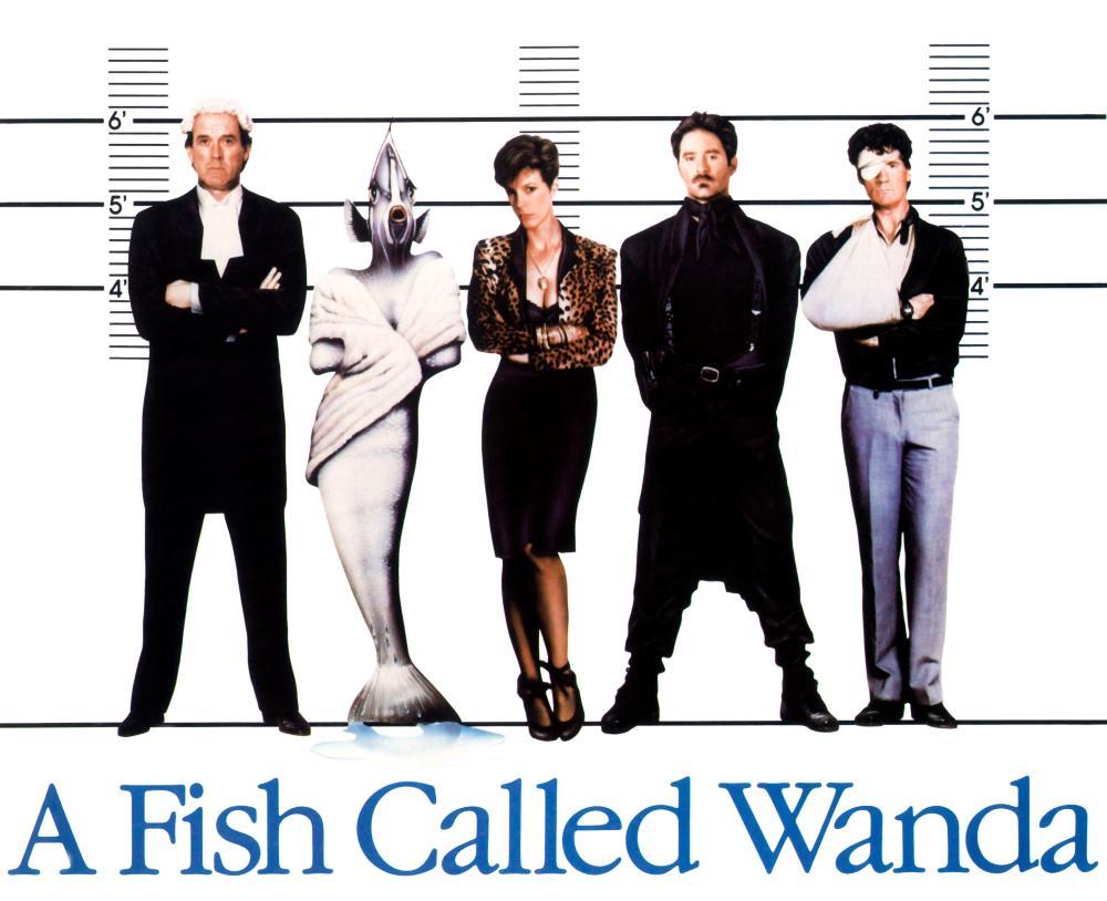 A fish called wanda 1988 charles crichton the mind reels for A fish called wanda