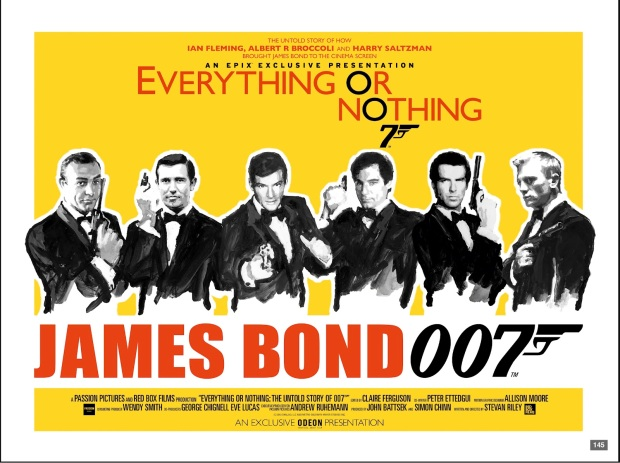 Everything or Nothing Quad James Bond documentary EPIX