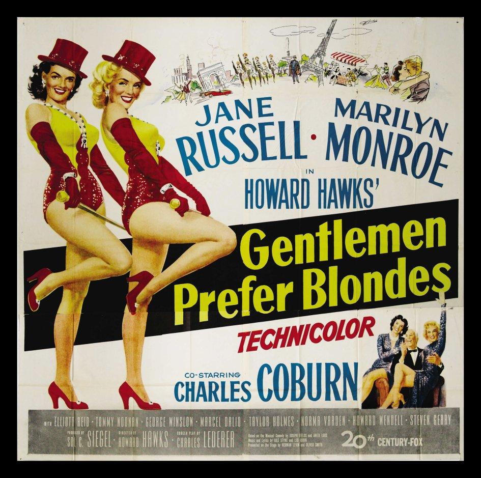 Gentlemen Prefer Blondes (1953) – Howard Hawks – The Mind Reels