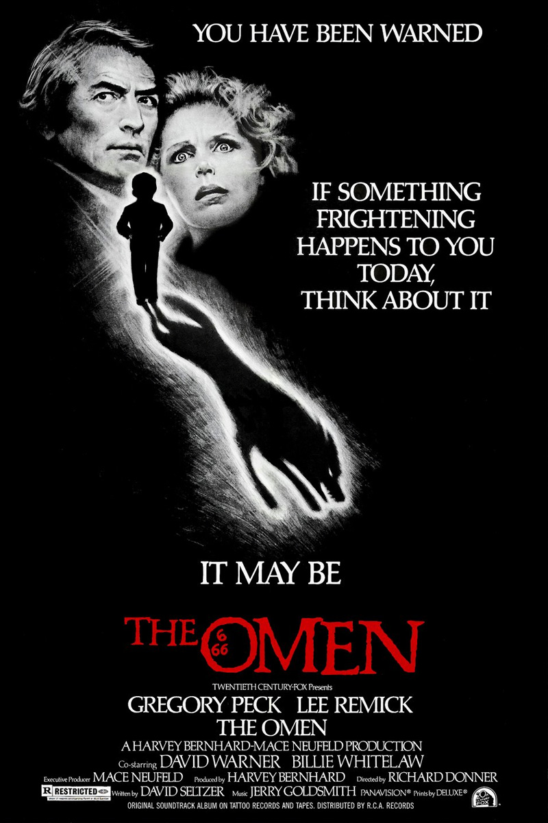 Oglądaj Omen (1976) Online za darmo - W rzymskiej klinice 6 czerwca o szłƒstej rano przychodzi na świat martwe dziecko. Ojciec,...