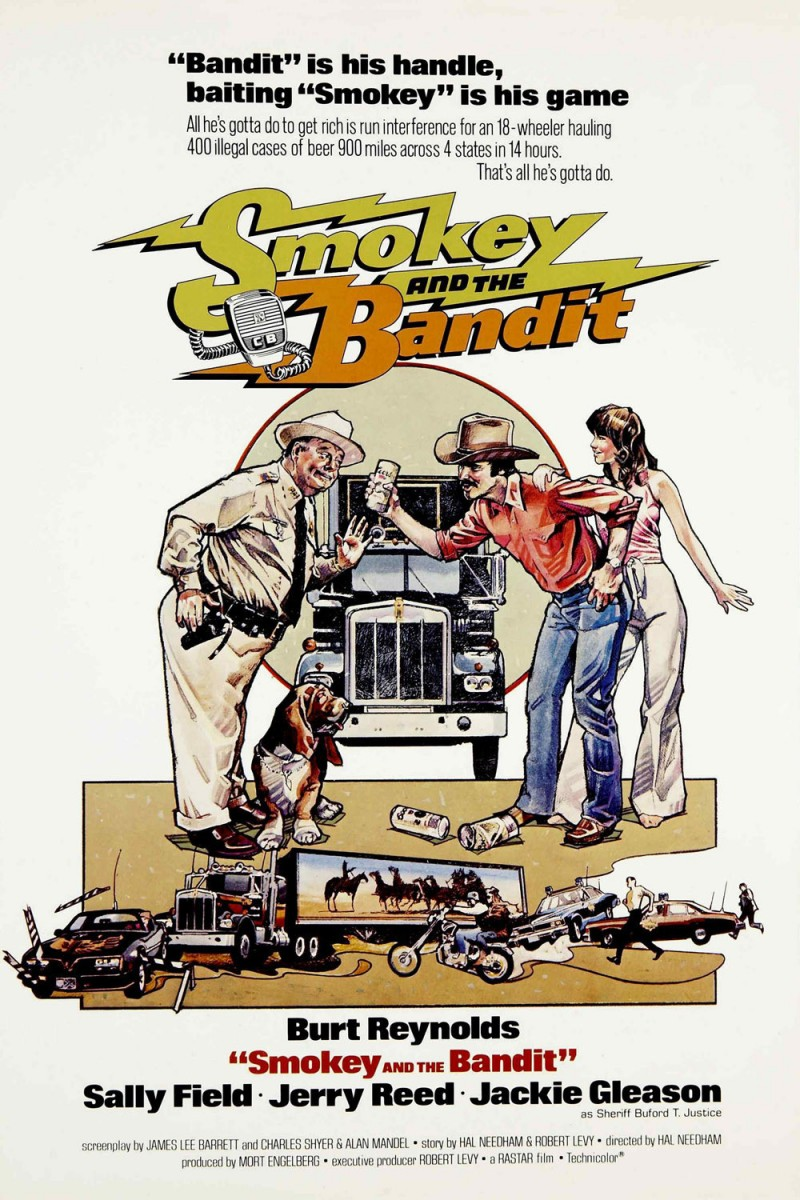 Smokey and the Bandit (1977) BluRay 480p 300MB ( Hindi – English ) MKV
