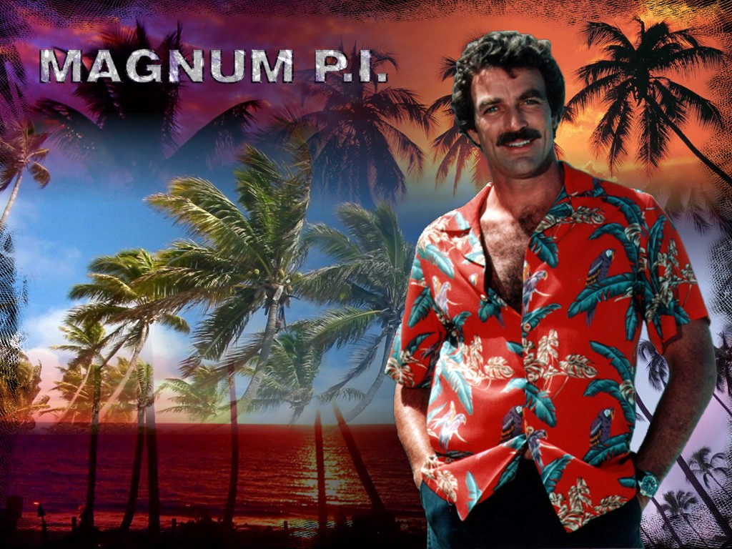 Magnum Pi Tom Selleck