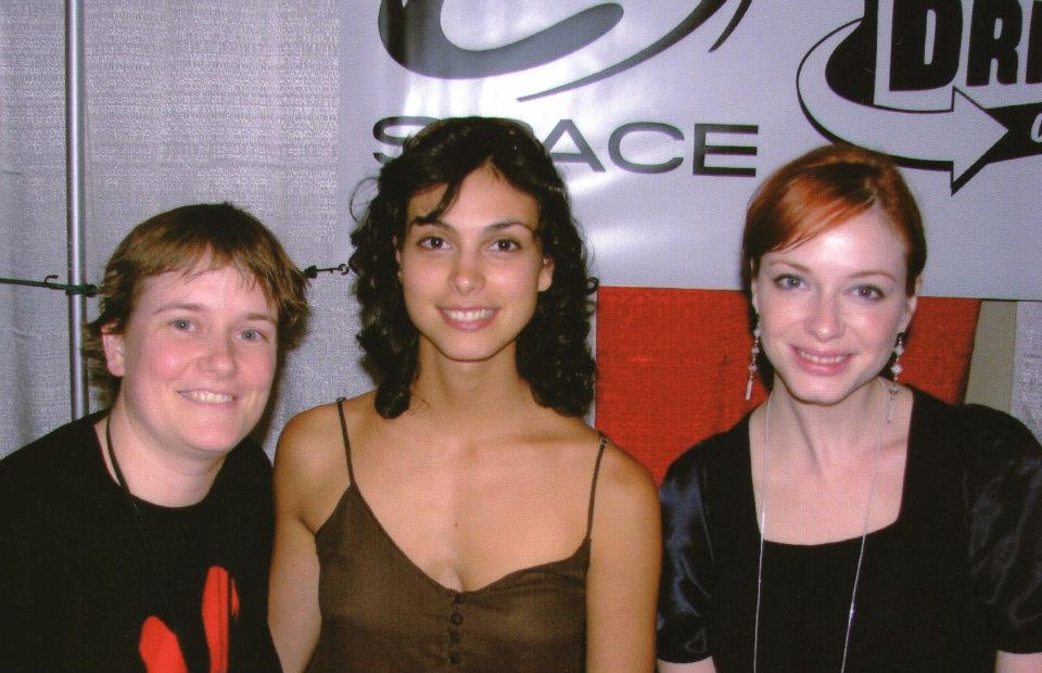 Morena Baccarin and Christina Hendricks, 2006