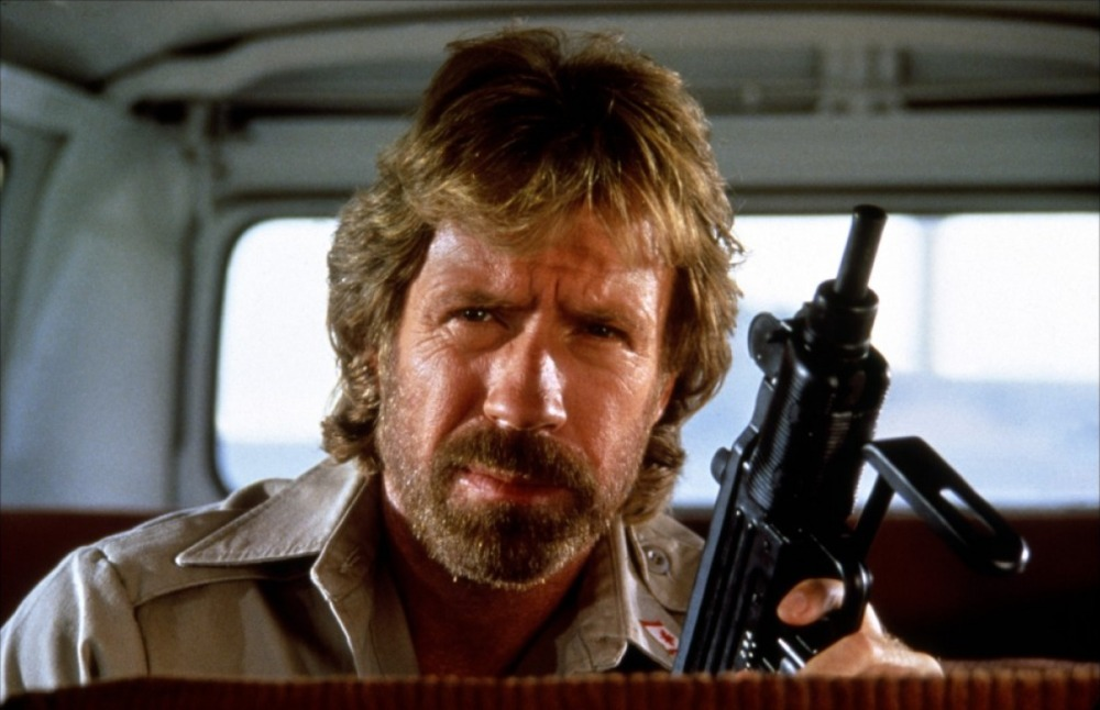 The Delta Force Chuck Norris stare