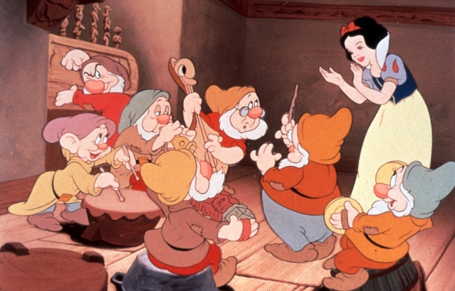Image result for snow white and the Seven Dwarfs 1937