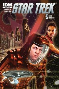 IDW Star Trek (nuTrek ongoing) #45 Eurydice, Part 3