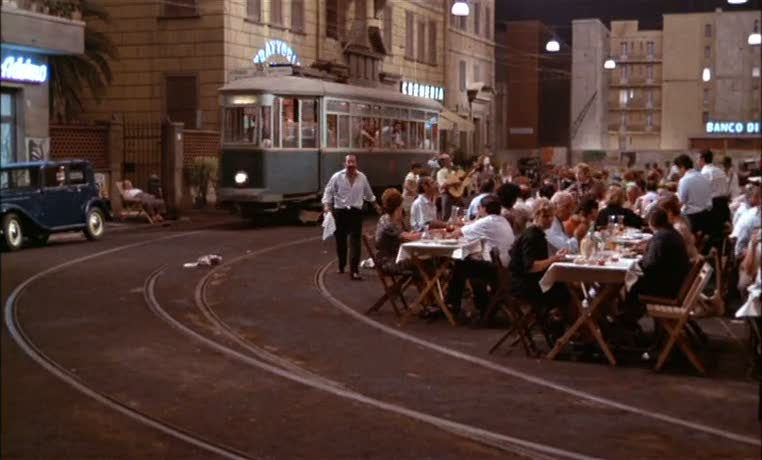 Roma 1972 Federico Fellini The Mind Reels