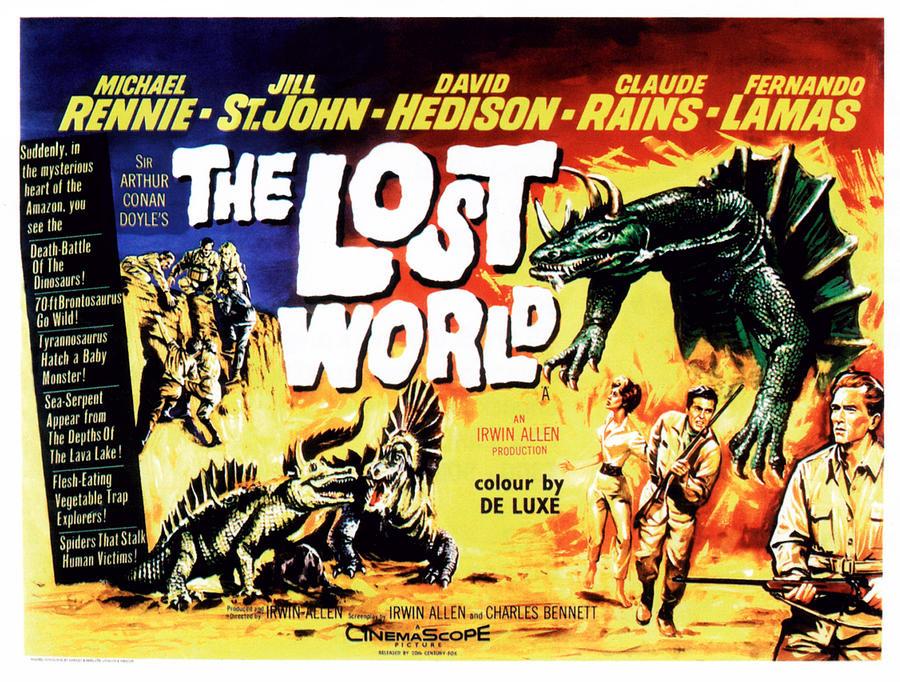 The Lost World (1960) u2013 Irwin Allen u2013 The Mind Reels