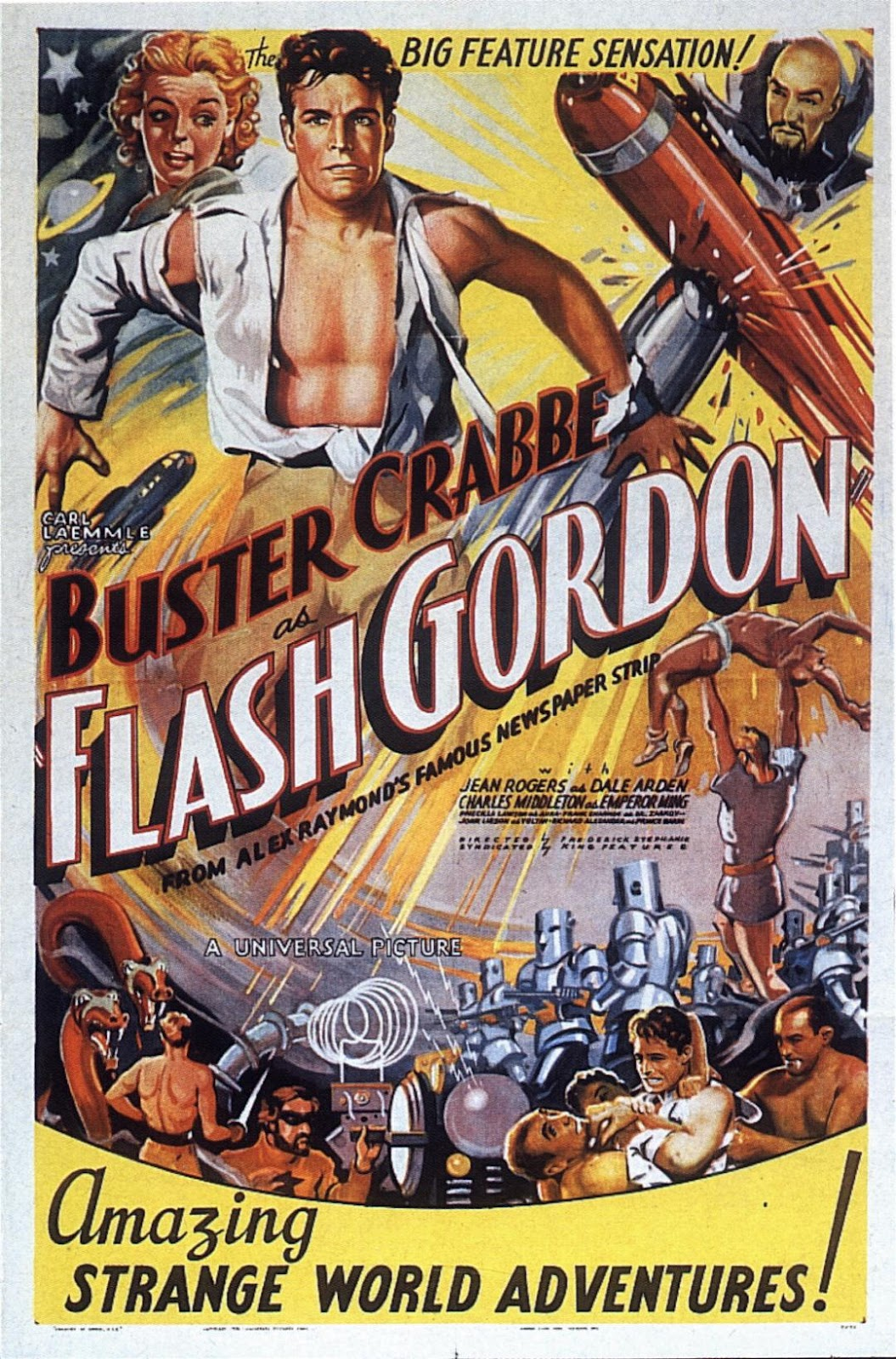 Flash Gordon Serie 1936
