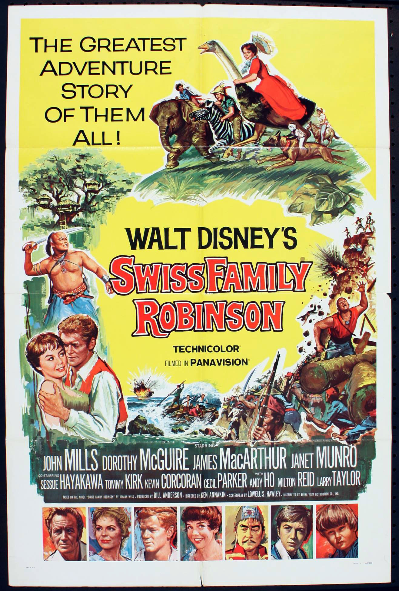 swiss family robinson Watch trailers, read customer and critic reviews, and buy swiss family robinson  directed by ken annakin for $1799.