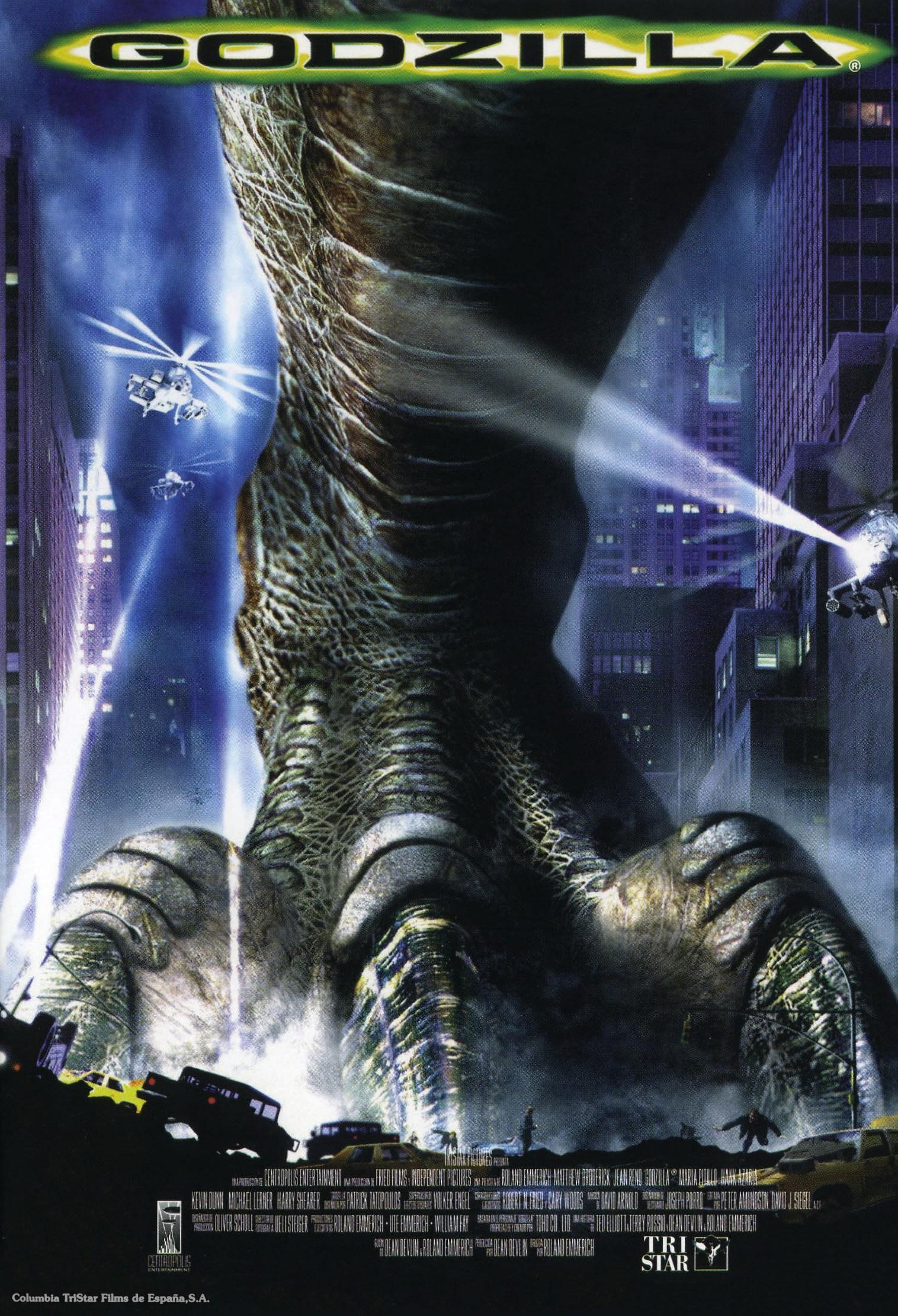 Godzilla (1998) u2013 Rolamd Emmerich u2013 The Mind Reels
