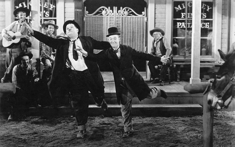 WAYOUTWEST2Comedy Fest - LAUREL AND HARDY WAY OUT WEST