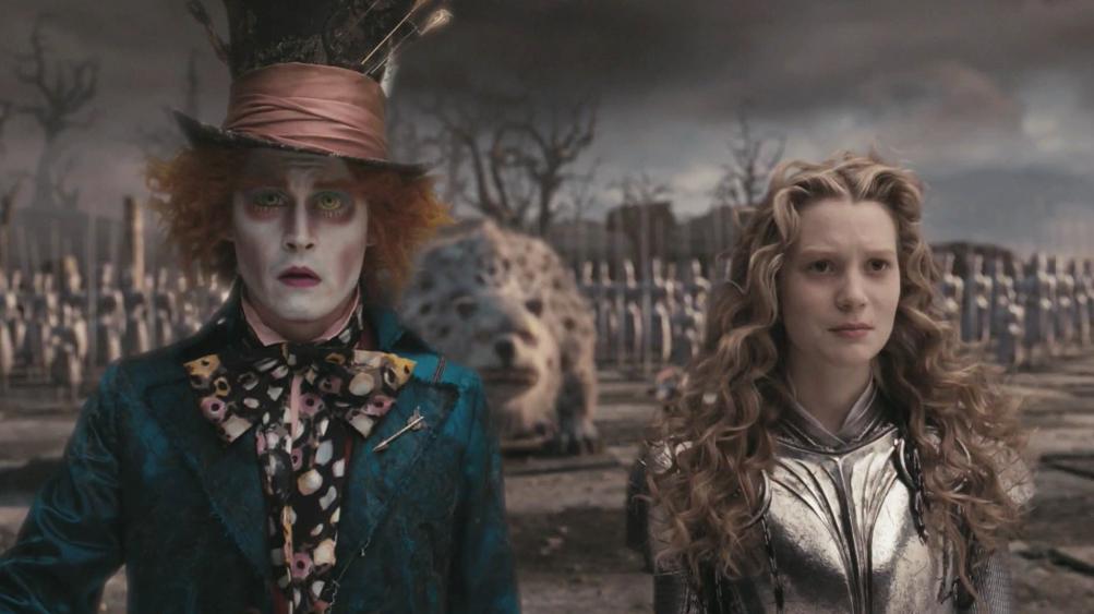 Alice In Wonderland 2010 Tim Burton The Mind Reels