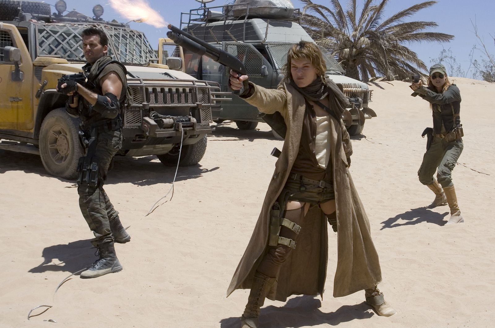 Resident Evil Extinction 2007 Russell Mulcahy The Mind Reels