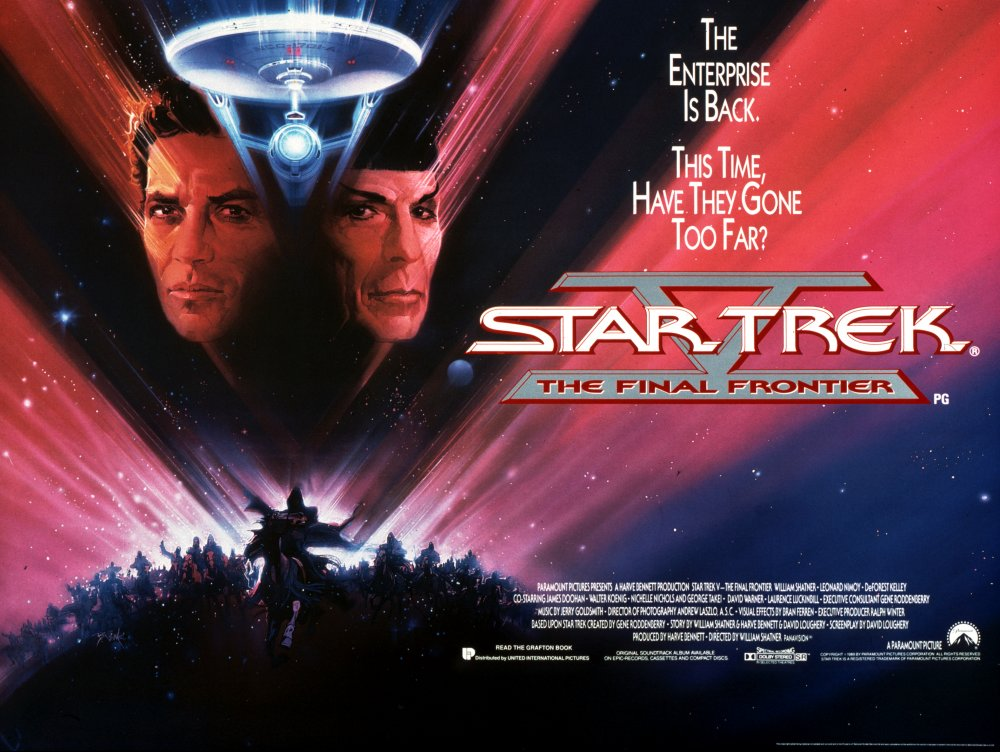 Star Trek V: The Final Frontier (1989) – William Shatner – The ...