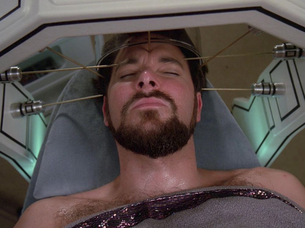 Riker_in_sickbay,_2365