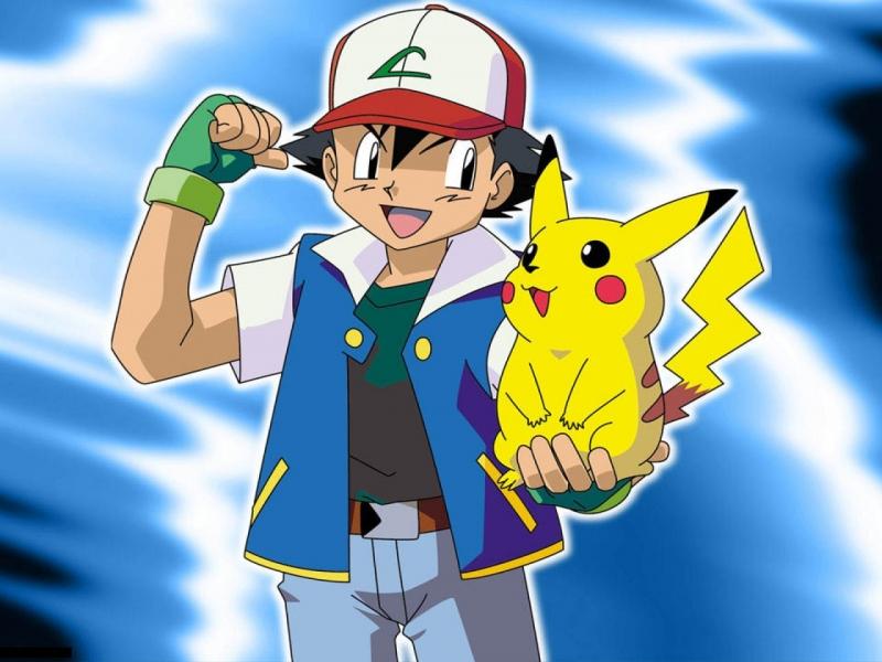 Ash-and-pikachu