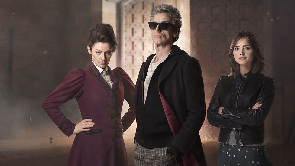Doctor Who Magician's Apprentice Peter Capaldi Jenna Coleman Michelle Gomez Missy Clara