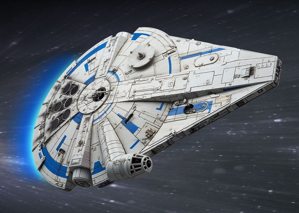 Bandai Millenium Falcon Lando Calrissian (1)