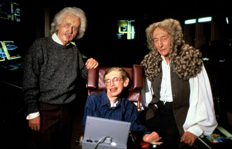 Einstein_Hawking_Newton