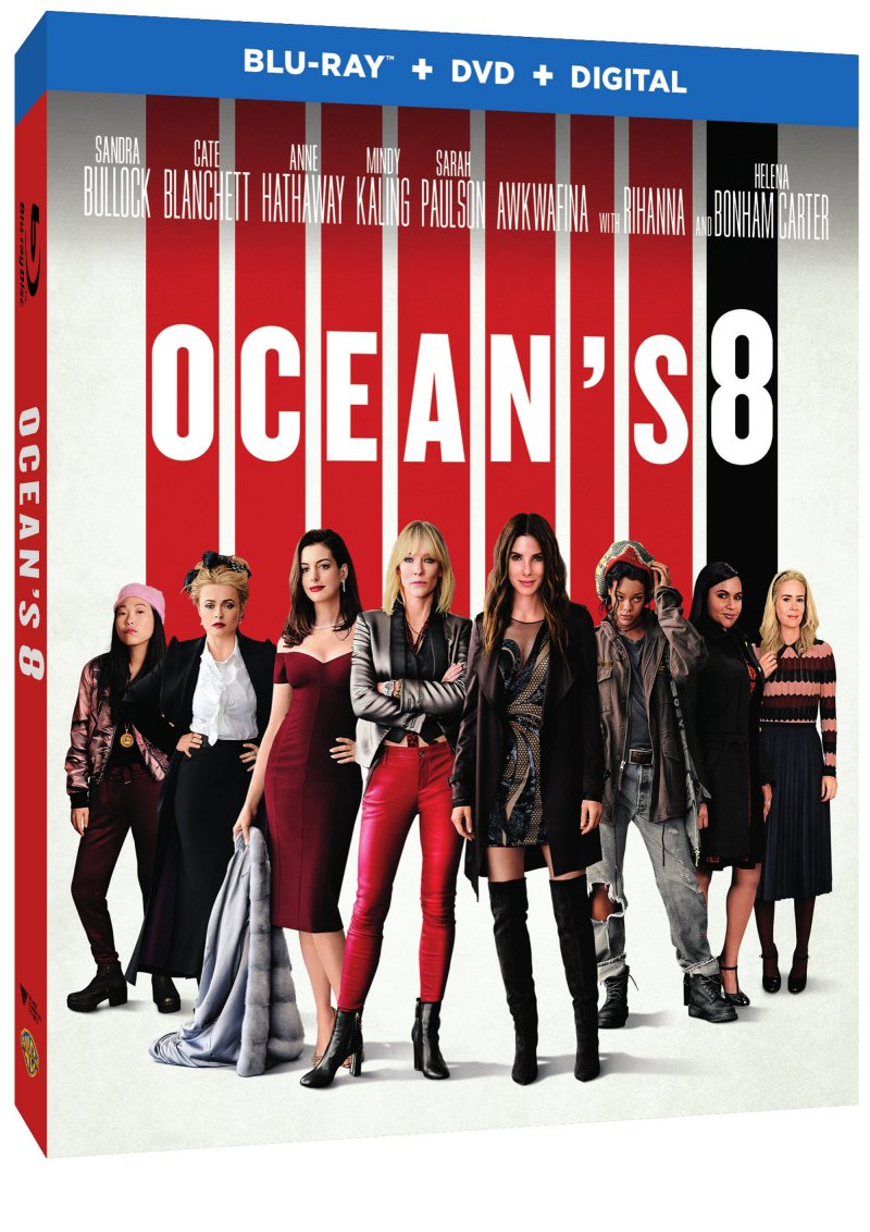 Ocean S 8 2018 Blu Ray Review The Mind Reels