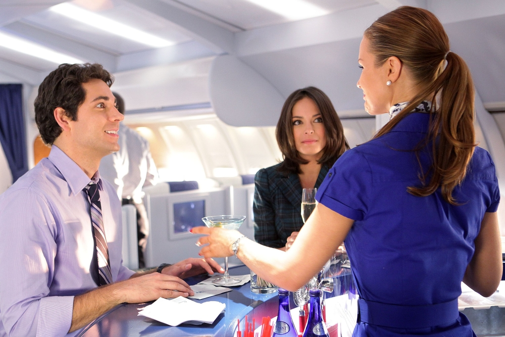 tv aircraft interior kristin kreuk zachary levi airliners 3000x2001 wallpaper_www.miscellaneoushi.com_44